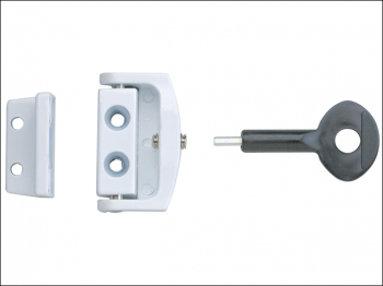 P113 Toggle Window Lock White (Pack 2)