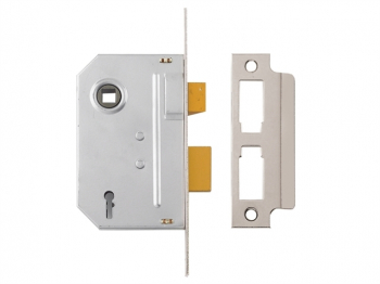 PM320 3 Lever Mortice Sashlock Polished Chrome 65mm 2.5in