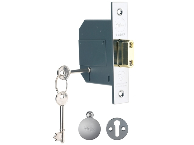 PM562 Hi-Security BS 5 Lever M ortice Deadlock 68mm 2.5in Pol