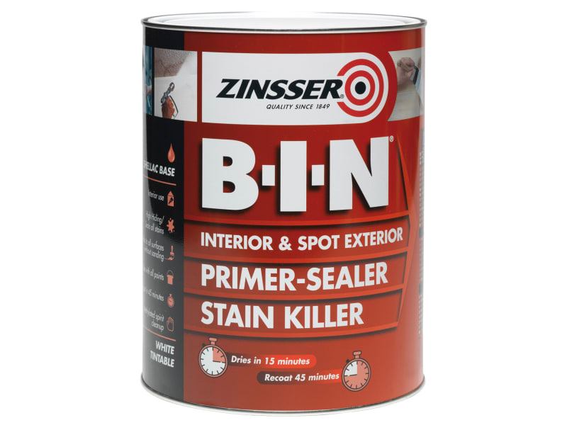 B.I.N Primer & Sealer Stain Killer Paint 500ml
