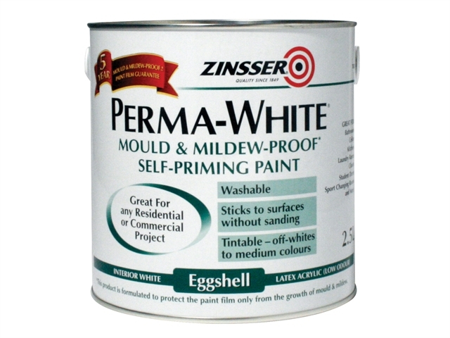 Perma-White Interior Paint Matt 2.5 Litre