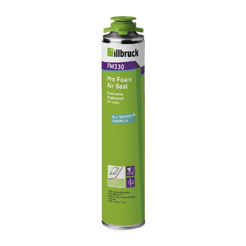 FM330 Pro Foam Air Seal 750ml (Gun Grade)- Illbruck 334348