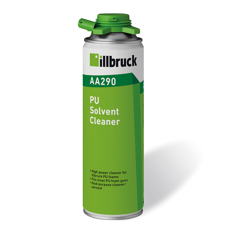 Illbruck AA290 500ml PU Foam Cleaner (Gun Grade & Handheld)