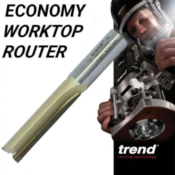 Trend BR01 X 1/2TC Economy Worktop Cutter