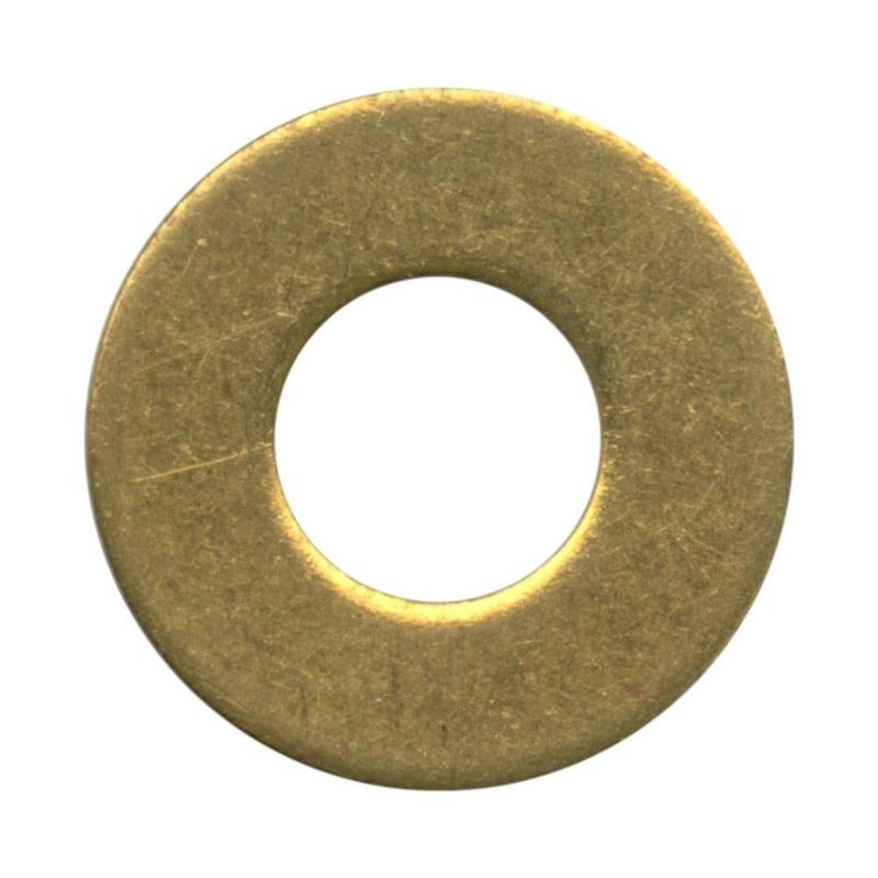 WASHER FORM A BRASS S/COL M6