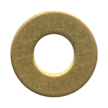 WASHER FORM C BRASS S/COL M10