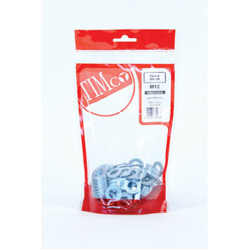 TIMBAG 625WHPZB BAG=160 PENNY WASHER M6 X 25 ZC
