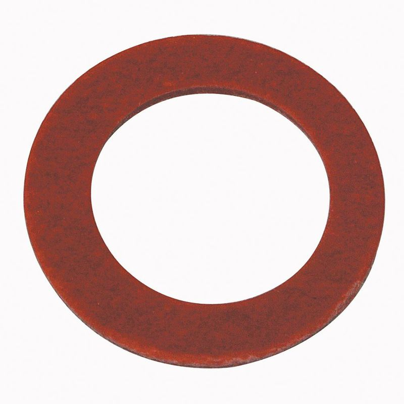 RED FIBRE WASHER 5.0mm