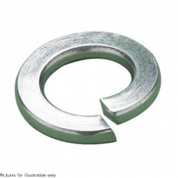 WASHER S/COIL RT STL ZINC 1/2 in