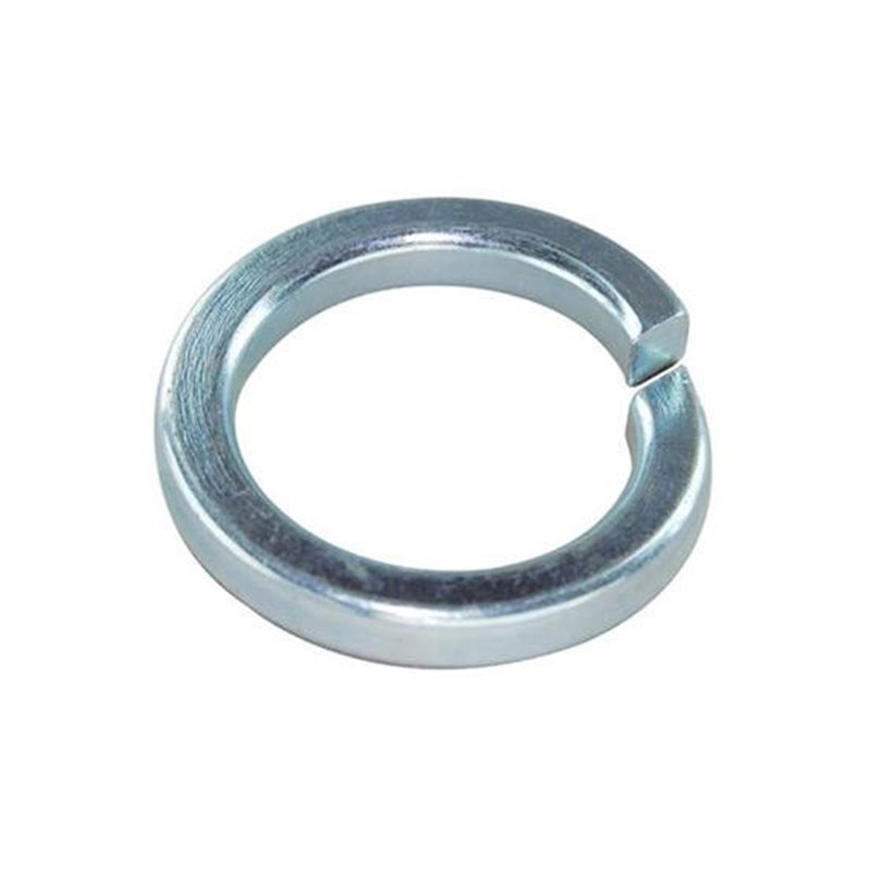 WASHER SINGLE COIL SQ SECT ZINC 3/8