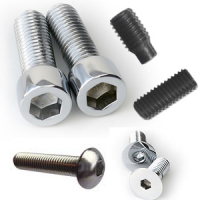 Socket Setscrew Plain Cup Steel Self Colour Bsw