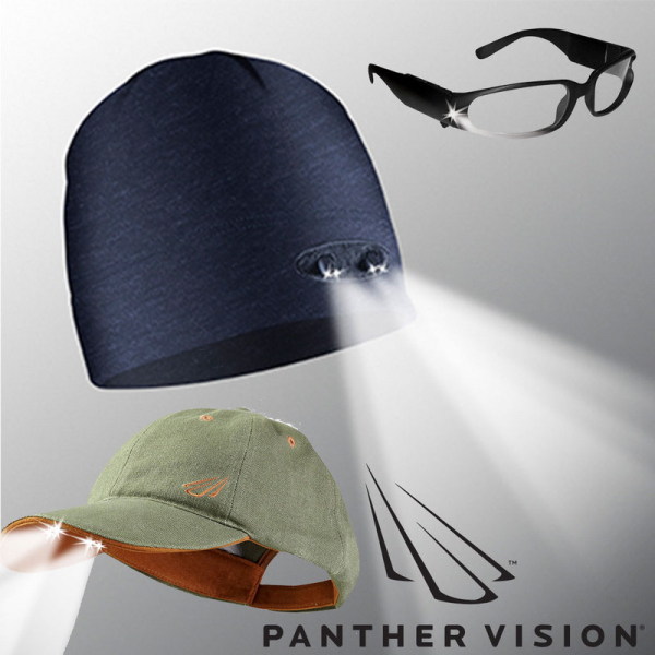 Panther - Power Caps, Beanies & Safety Glasses - Powerful LED Solutions