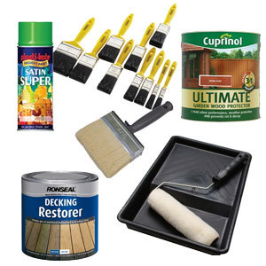Decorating - Preparation, Tools, Protection