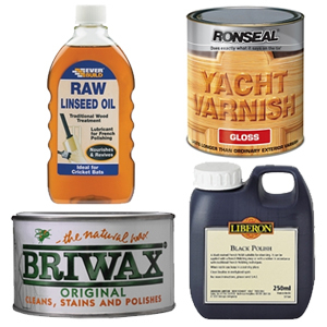 Woodcare - Waxes, Varnishes, Oils & Dyes