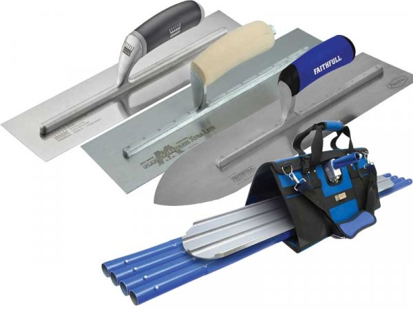 Cement & Concrete Trowels