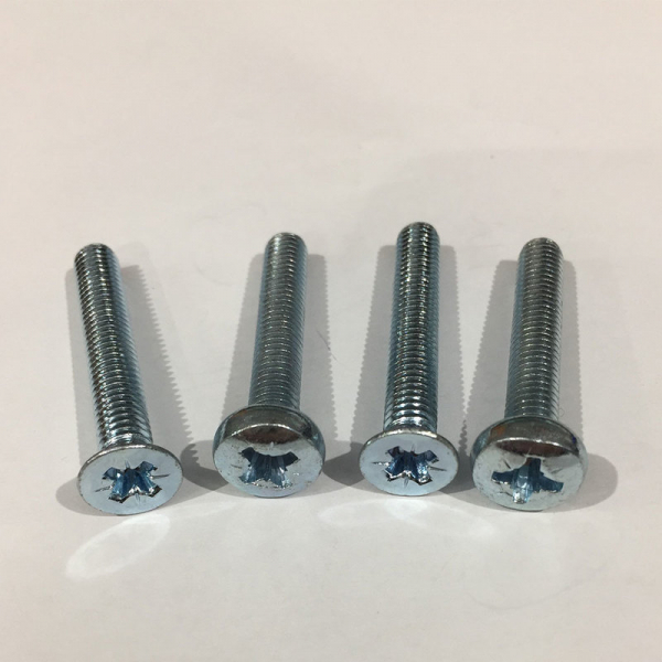Machine Screws Steel Zinc Plated