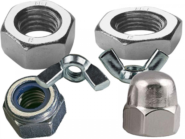 Nuts Metric Stainless Steel